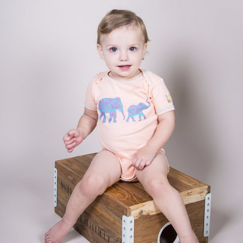 Animals Galore! Gift Set - Girl - Onesies/Footies/Toy - 100% Organic, Fair-Trade - Baby Hero - 12