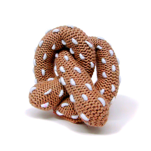 Estella Pretzel Rattle - Organic/Fair-Trade Toy - Baby Hero