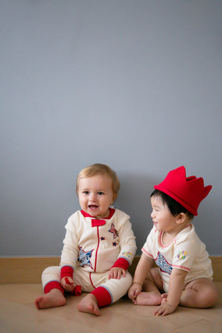 I Heart NYC Onesie/Toy Gift Set - 100% Organic Cotton - Baby Hero - 5