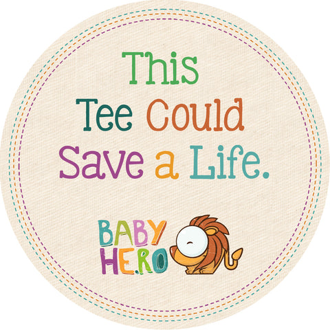 Indus Tee - Turquoise - Long-Sleeve, 100% Organic Cotton - Baby Hero - 7