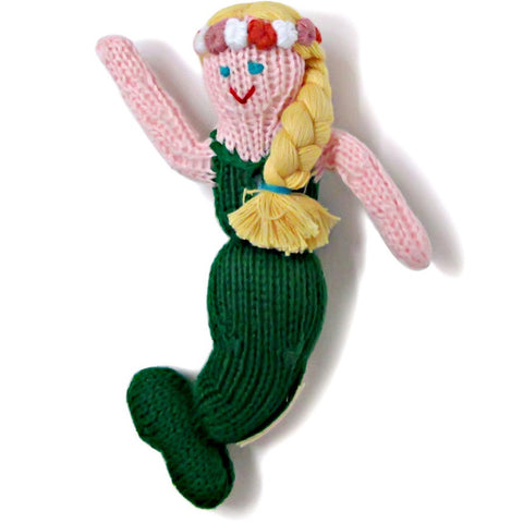 Estella Mermaid Rattle - Organic/Fair-Trade Toy - Baby Hero