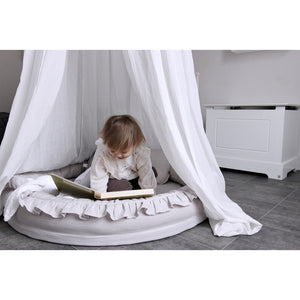 Cotton&Sweets junior nest Pure Nature - Light Grey
