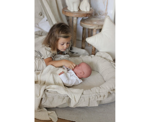 Cotton&Sweets pure nature babynestje natural ruffles