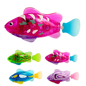 Water Activated LED Fish Toy