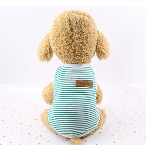 Cute Pet Clothes Striped Cat - catixy