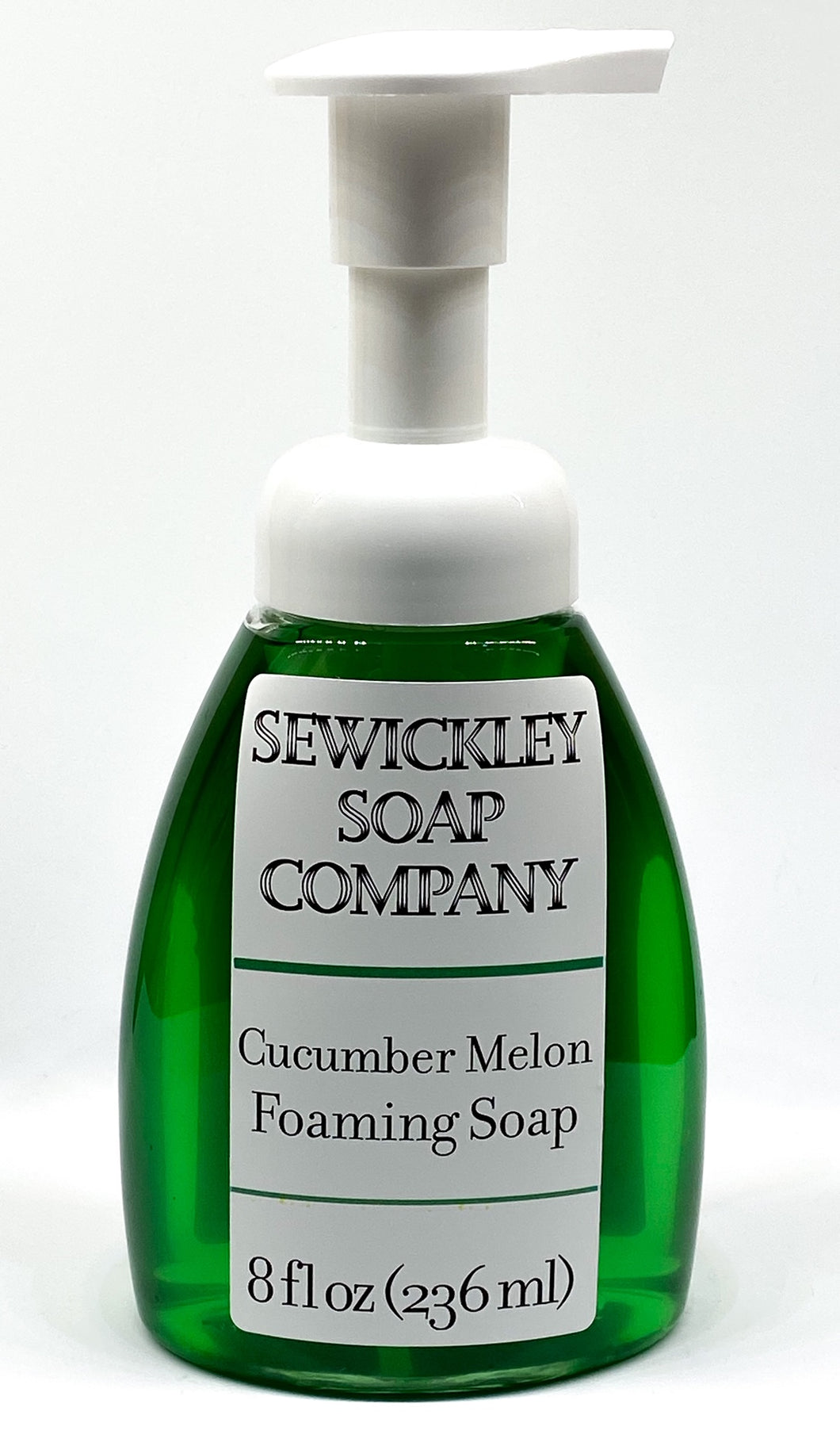 Cucumber Melon Scented Foaming Hand Soap