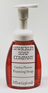 Cactus Flower Foaming Hand Soap