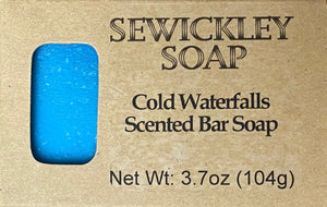 Cold Waterfalls Scented Bar Soap