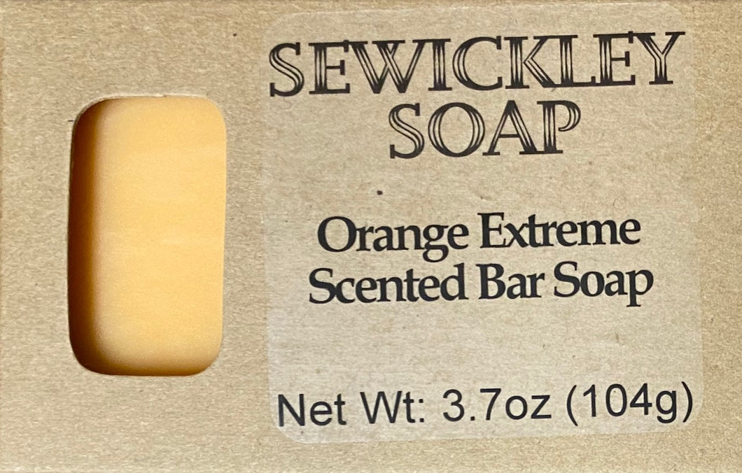 Orange Extreme Scented Bar Soap