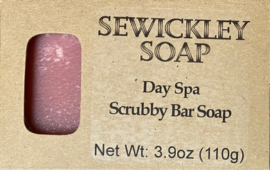 Day Spa Scented Scrubby Bar Soap