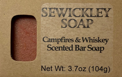 Campfire Whiskey Bar Soap