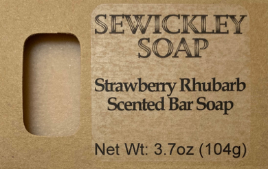 Strawberry Rhubarb Bar Soap