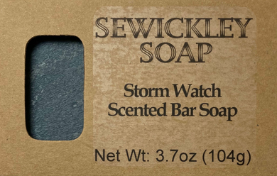 Storm Watching Bar Soap