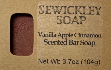 Vanilla Apple Cinnamon Bar Soap