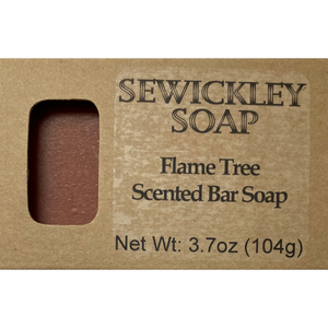"""Flame Tree"" Bar Soap"