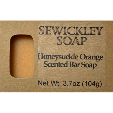 Honeysuckle Orange Bar Soap