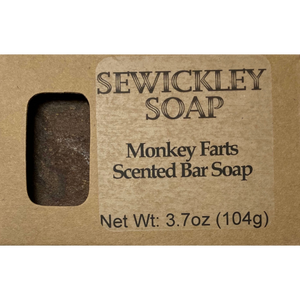 Monkey Farts Bar Soap