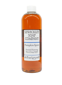 Pumpkin Spice Foaming Hand Soap - 16oz Refill