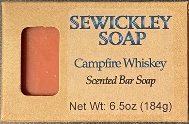 Campfire Whiskey Scented Bar Soap - Jumbo Bar