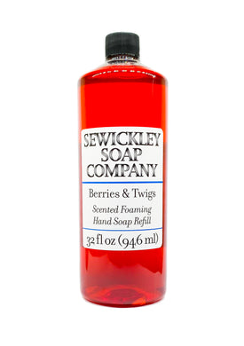 Berries & Twigs Scented Foaming Hand Soap - 32oz Refill