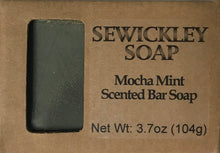 Load image into Gallery viewer, Mocha Mint Bar Soap