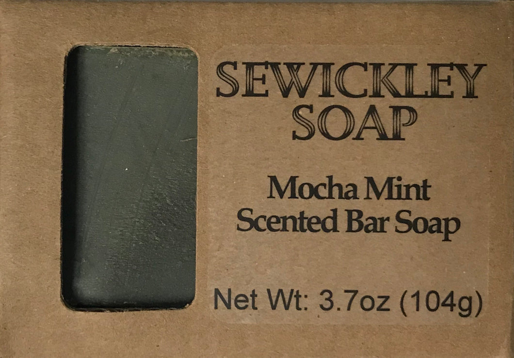 Mocha Mint Bar Soap
