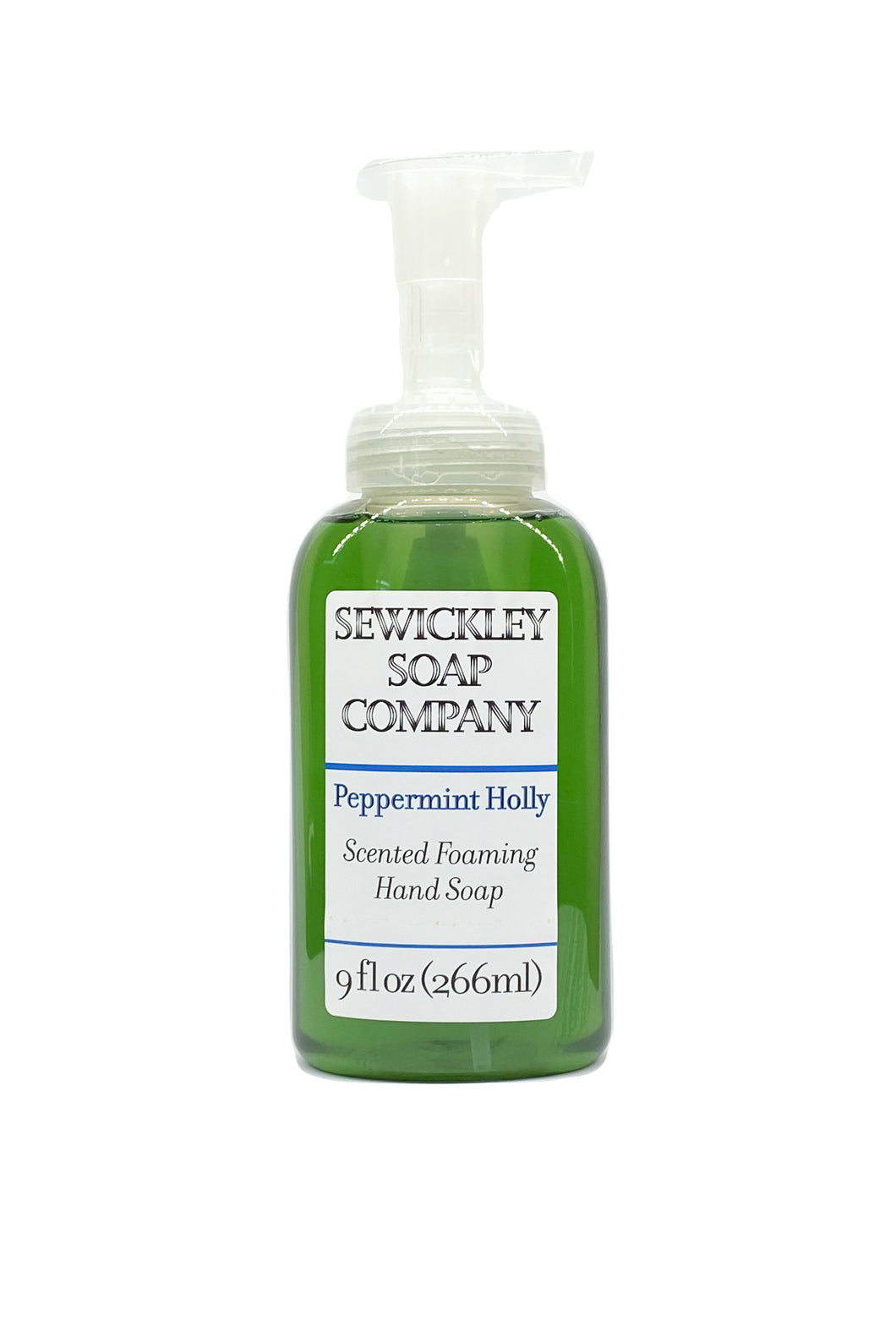 Peppermint Holly Scented Foaming Hand Soap