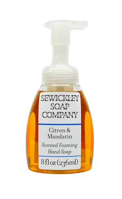 Citron & Mandarin Scented Foaming Hand Soap