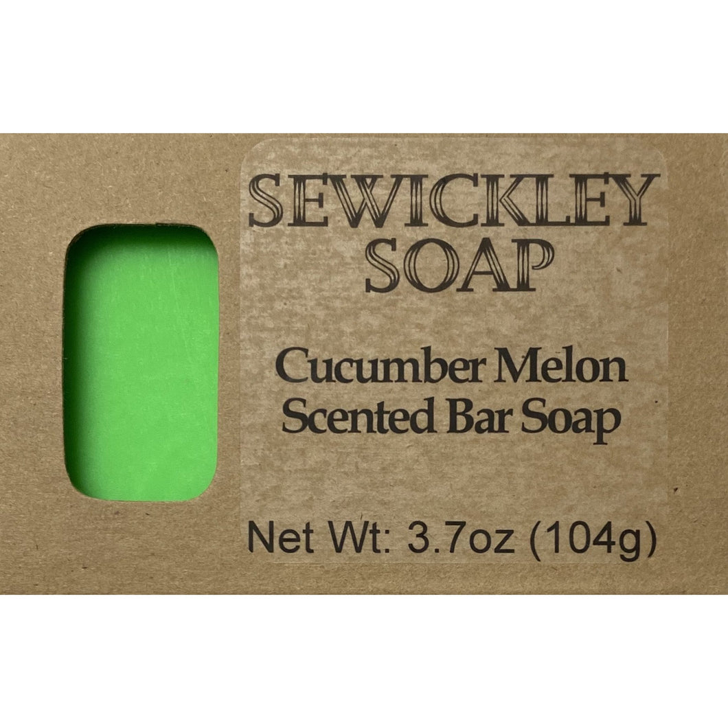 Cucumber Melon Bar Soap