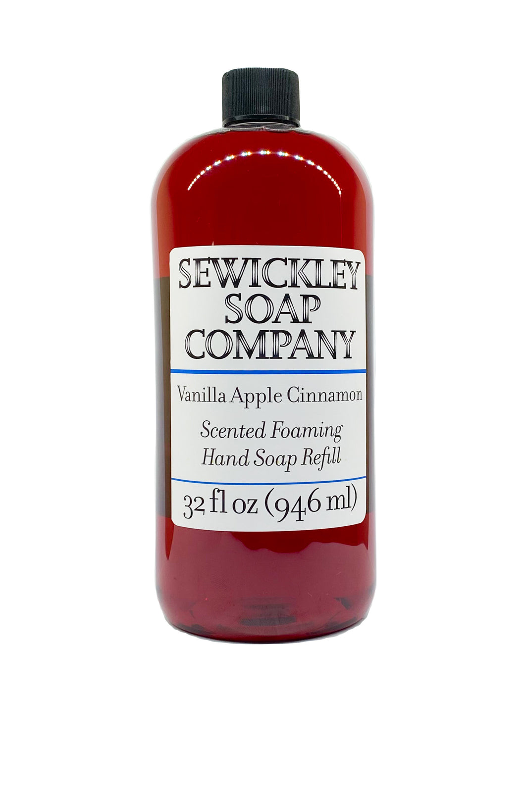 Vanilla Apple Cinnamon Scented  Foaming Hand Soap - 32oz Refill