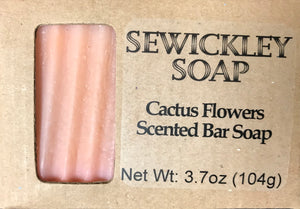 Cactus Flowers Bar Soap