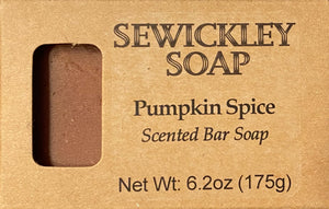 Pumpkin Spice Scented Bar Soap - Jumbo Bar