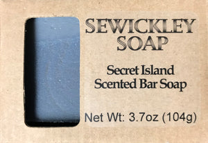 Secret Island Bar Soap