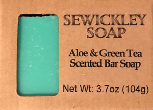 Aloe & Green Tea Bar Soap