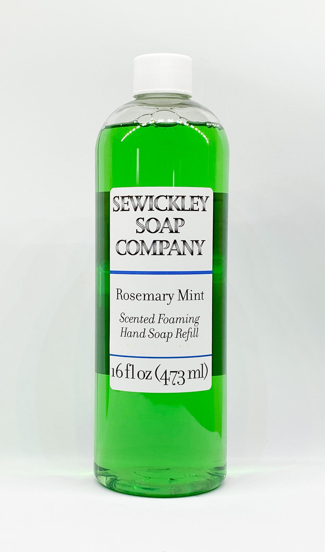 Rosemary Mint Scented Foaming Hand Soap - 16oz Refill