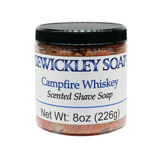 Load image into Gallery viewer, Campfire Whiskey Scented Shaving Soap