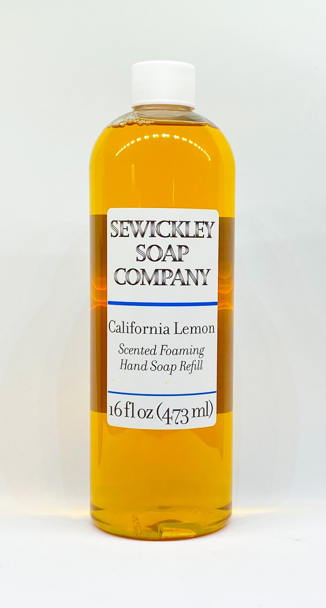California Lemon Scented Foaming Hand Soap - 16oz Refill
