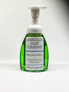 Rosemary Mint Scented Foaming Hand Soap