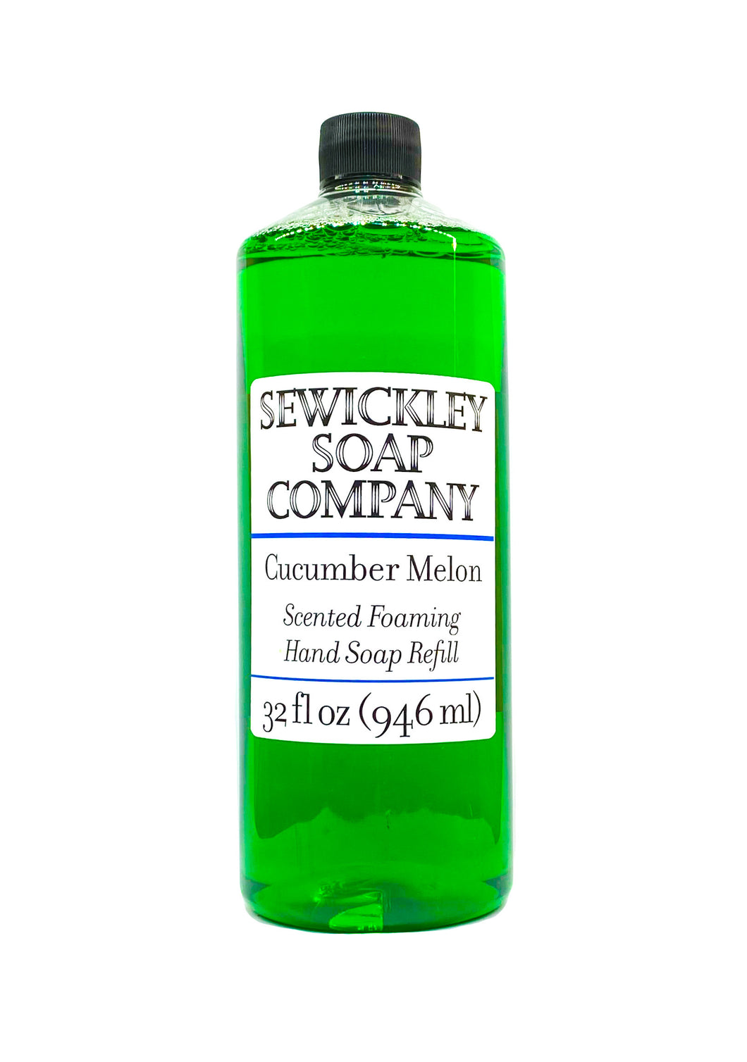 Cucumber Melon Scented Foaming Hand Soap - 32oz Refill