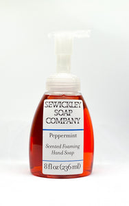 Peppermint Scented Foaming Hand Soap