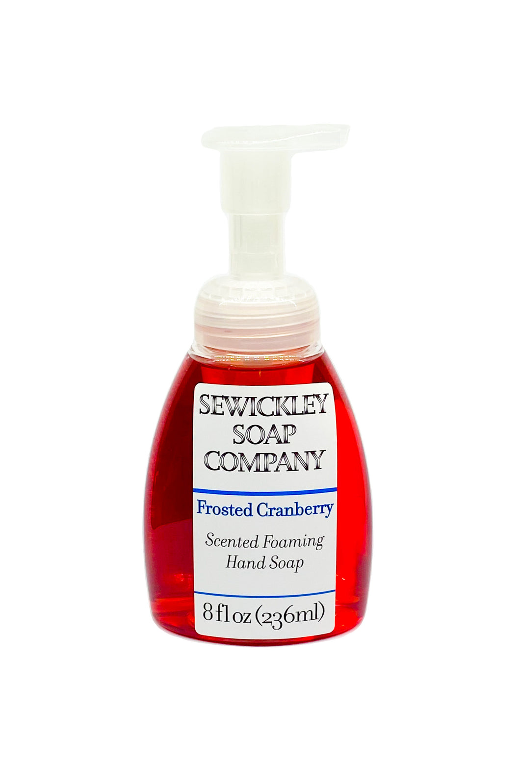 Frosted Cranberry Scented Foaming Hand Soap