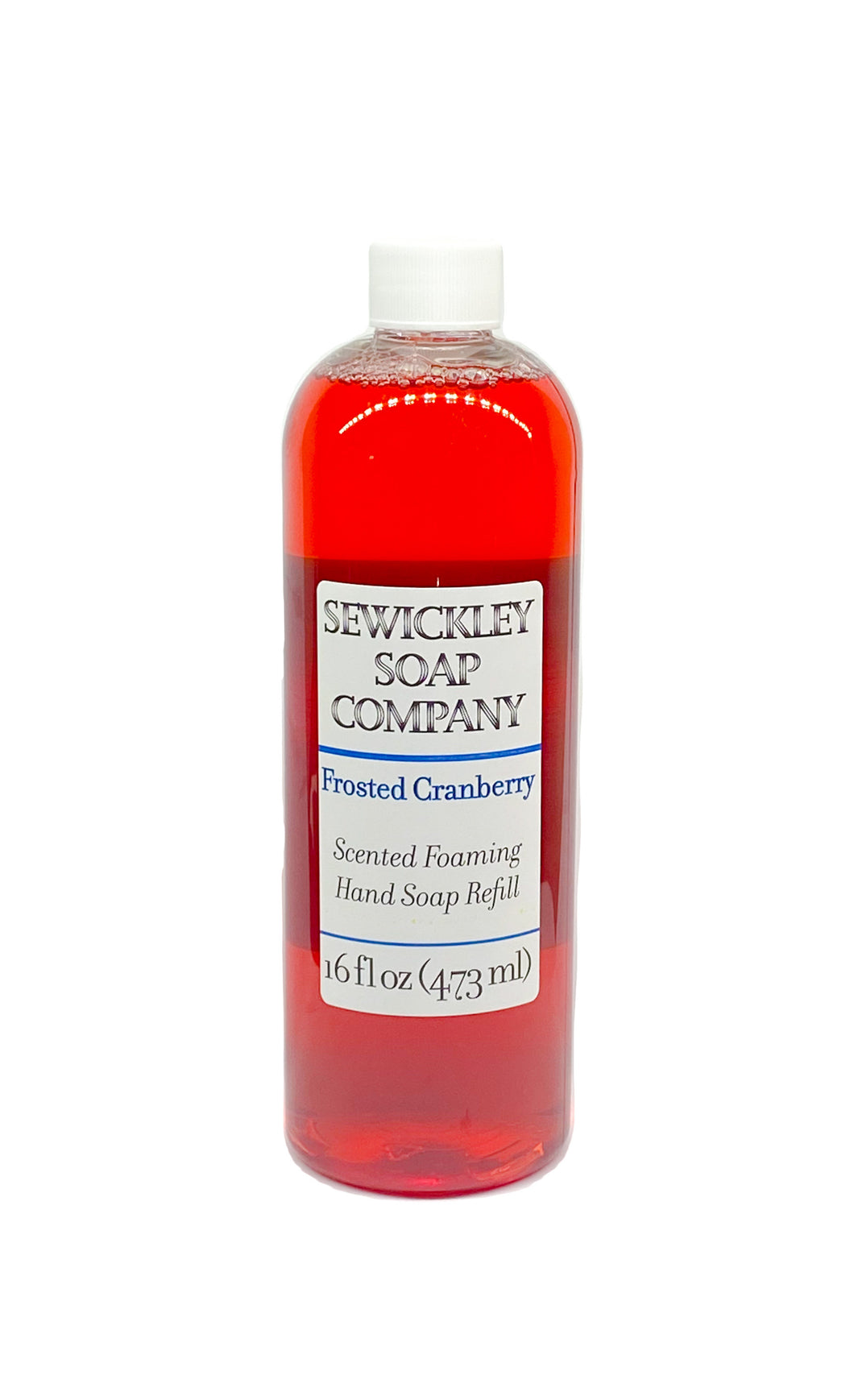 Frosted Cranberry Scented Foaming Hand Soap - 16oz Refill