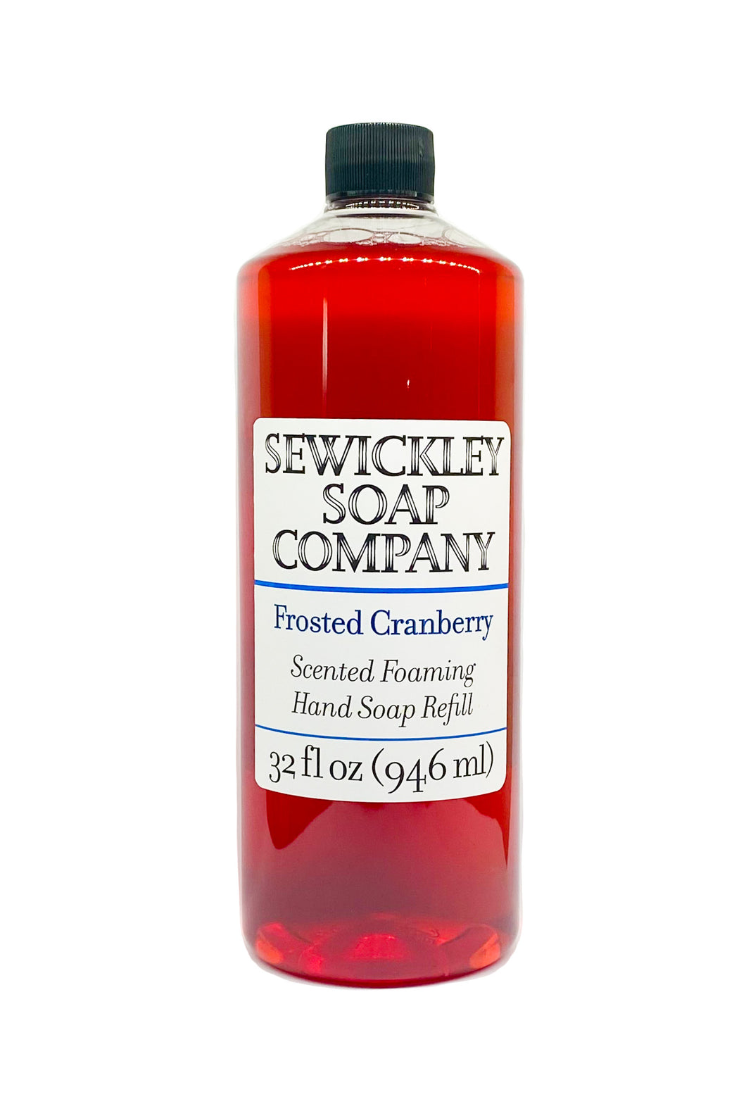Frosted Cranberry Scented Foaming Hand Soap - 32oz Refill