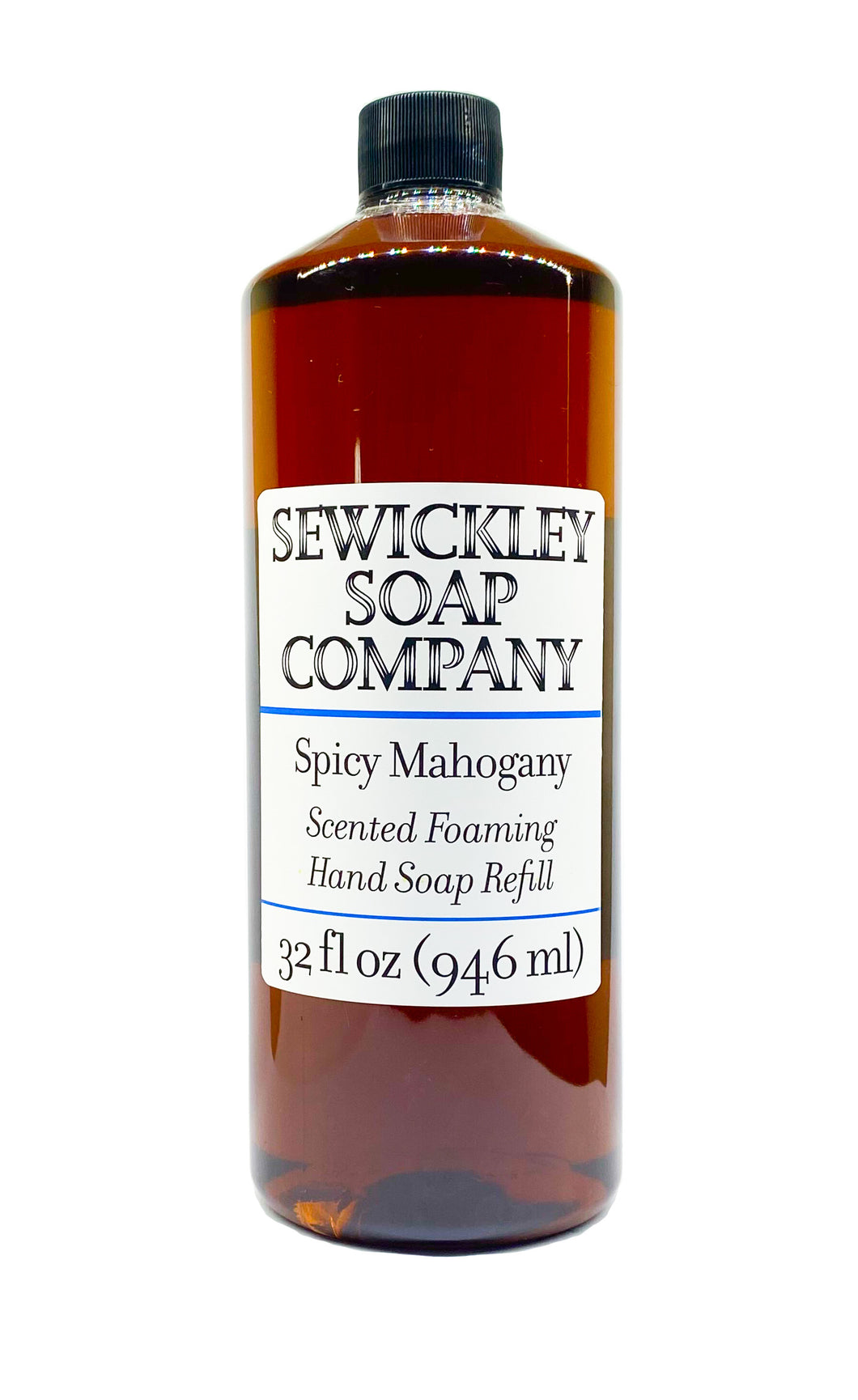 Spicy Mahogany Scented Foaming Hand Soap - 32oz Refill