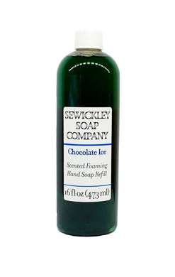 Chocolate Ice Scented Foaming Hand Soap - 16oz Refill