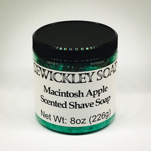 Macintosh Apple Scented Shaving Soap