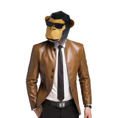 Sun-Glass Gorilla Mask