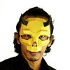 Short Horned Skull Mask - Gold