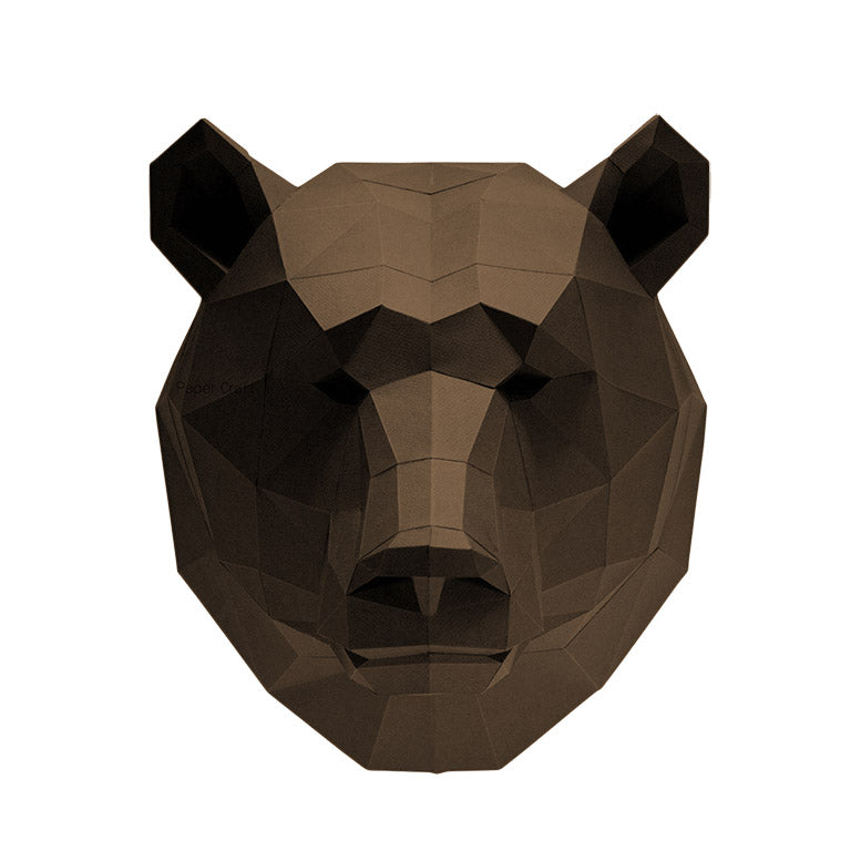 Bear Head Wall Art