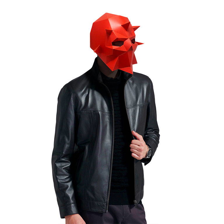 Dark Knight Mask - Red